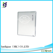 China Made For ipad 3 back cover rear casing housing with logo (Wifi Plus 3G Version)