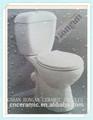 Couleur petite salle de bains deux- pièce de toilette