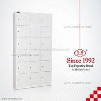 Huadu brand 0.6-0.8mm cold rolled steel wardrobe storage armoire