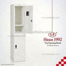 Knocked down double door wardrobe with double mirror doors