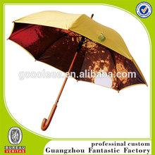 Custom design shining and colorful inside printing umbrella