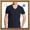 comfortable combed 100%cotton short sleeve slim fit v neck t shirt