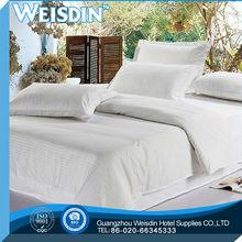 Conventional hotel supplies cheap 100% cotton bedding set