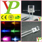low price super high bright 5mm flat top red led(CE&RoHS)