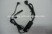 700tvl Sony ccd 3 rings 2.5 jack 5v pinhole pocket camera,5v low light pocket hidden camera.mini dv pocket camera button lens.