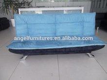 Top level durability big size red pu sofa futon bed