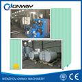 shm prima la leche del tanque de almacenamiento de leche y productos lácteos de la planta de procesamiento