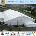 King size clássico de alumínio estrutura de tendas 30x60m com duplo- asa de portas de vidro na frente