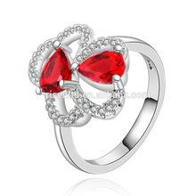 wholesale jewelry,fashion 925 silver new design ruby gemstone ring R433