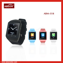"Latest slim and small mobile phones, smart watch phone with1.54"" TFT touch screen,Small watch mobile phone"