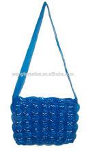 New style cheap bubble shoulder bag inflatable girls shoulder bag