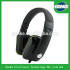 2014 Popular Cool Stylish High Quality Free Sample Mega Bass Headphones For Mp3/mp4 Player