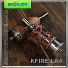 famous products original invention Smokjoy NFire LA4 and LA3 full mechanical mod ,accept paypal