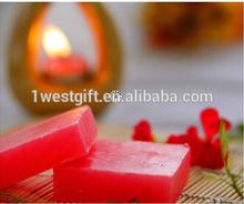 Rose soap,red flower soap,natural soap
