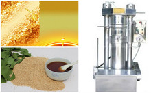 Cocoa bean hydraulic oil press