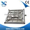 XINHONG Movable Electic Casting Aluminum Heating Platen for Heat Press Machine
