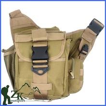 Hiking Travel Outdoor Sports Shoulder Bag Photo Polyester Waterproof Saddlebag Bag