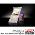 baja precio de huawei ascend p6 android cuatro tarjetas sim de teléfono móvil con tv