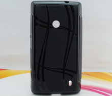 stylish tpu gel case cover for nokia lumia 520