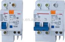 DZ47-63 mcb mccb circuit breaker rccb earth leakage