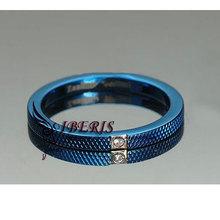 2014 Blue lucky stone finger ring(R2-B0017)