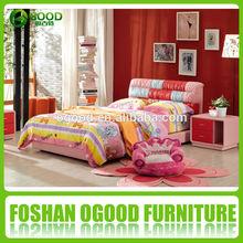 High Quality Wood Frame Leather Sofa Bed Set