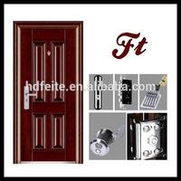 new style model steel security wood entry door xiamen