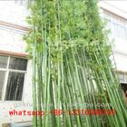 LXY072619 China manufacturer artificial bamboo green bamboo stick garden decoration bamboo pole
