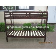 cheap wooden bunk bed full KS-BB07