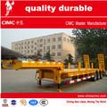 de alta calidad de servicio pesado remolque de plataforma baja para los equipos contenedores transporte del coche