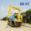 6 t / 10 m barato hidráulica Manual cesta máquina de la grúa para construcción con certificación CE mejor venta SQ6.3ZA3