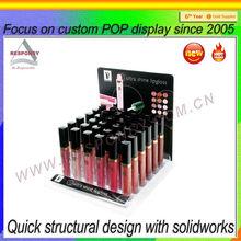 pop make up custom printed acrylic counter display stand