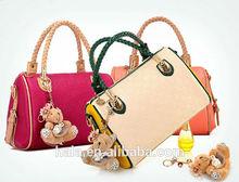 D36 new styel Europe Pressed flowers shoulder bag handbag bag ladies fancy bag