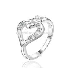 fashionable jewelry fashion elegant heart stone female ring R471