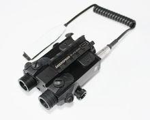 Military Tactical Rifle Picatinny Rail Dual Aiming Laser Combo Sight