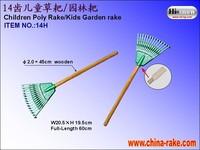 Children poly rake/ garden rake