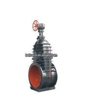 Electric Non-rising stem flat iron Gate valve DN1000 /electric actuator gate value