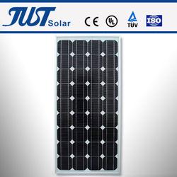 75-100W mono solar panel, solar system, residential solar panels cost