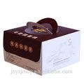 delicado diseño personalizado duradero cajas de papel para pasteles