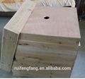حار بيع حجم مربع النحل langstroth خلية نحل العسل من الصين