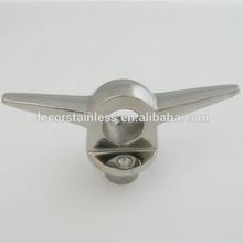 Marine hardware lifting eye cleat 7''
