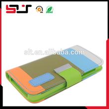 Fashion design flip leather case for iphone5c