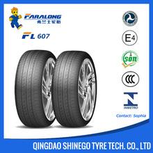 Faralong FL607 Good Quality, New China Tire/ Passenger Car Tire
