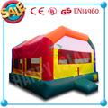 Hi CE nuevo diseño divertido inflable exterior fisher price bebé gorila castillo