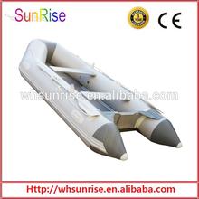 Aerodeslizador 11.8ft bote inflable con cubierta de aluminio