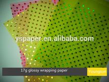 17g 24g 80g printing glossy tissue paper