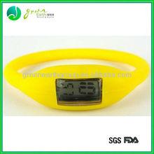 2014 hot sale fashion digital silicone interchangeable watch