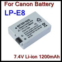 Digital travel battery LP-E8 for Canon EOS 550D