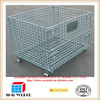 Foldable Suitcase Wire Metal Folding Cage Crate industry Cage