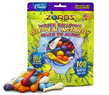 ZORBZ Self Sealing Water Balloons 100 Count